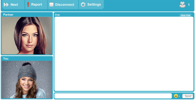 Live Chat Roulette screenshot 2
