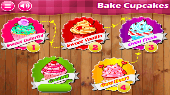 Bake Cupcakes screenshot 1