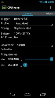Cpu Tuner  pc screenshot 1