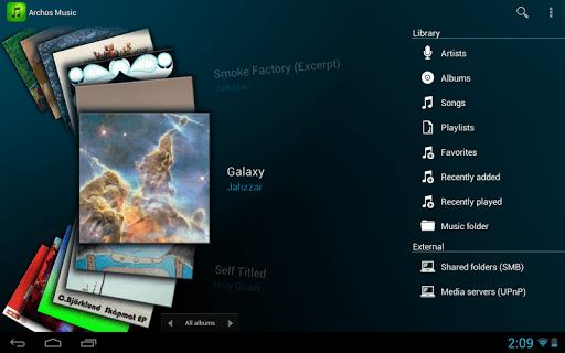 Archos Music pc screenshot 1