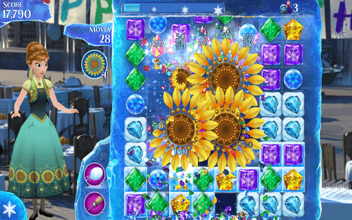 Frozen Free Fall screenshot 1