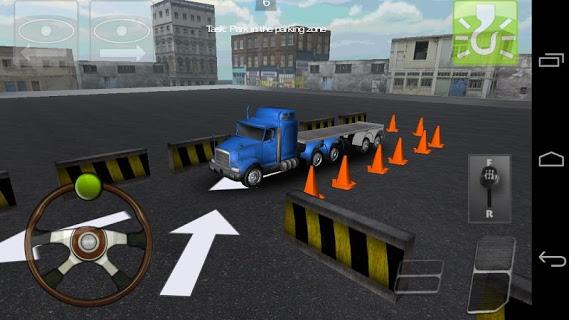 Truck Parking 3d pc screenshot 1