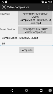 Video Compressor pc screenshot 1