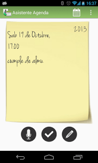 Asistente Agenda screenshot 1