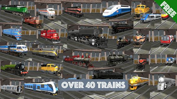 Train Sim screenshot 1