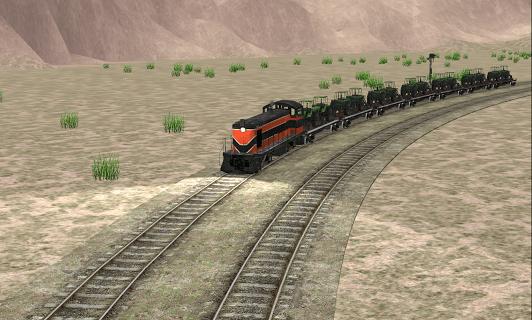 Train Sim screenshot 2