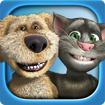 Talking Tom & Ben News app