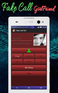 Fake Call Girlfriend pc screenshot 1