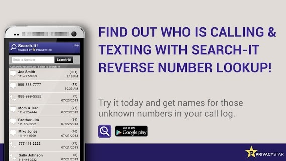 Reverse Phone Number Lookup screenshot 1