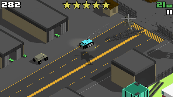 Smashy Road screenshot 1