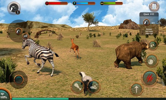 Honey Badger Simulator screenshot 2