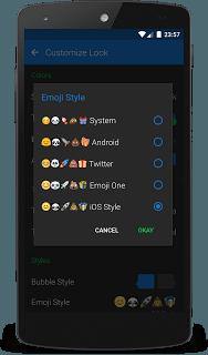 Textra Emoji  screenshot 1