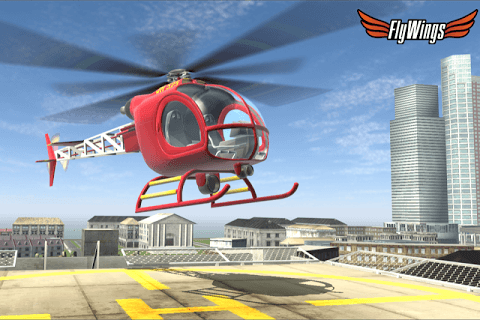 Helicopter Simulator 2015 screenshot 1