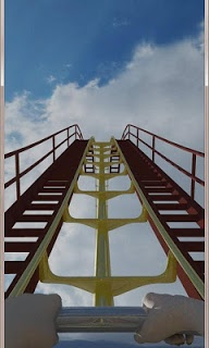 Rollercoaster 3gs Of Force Lwp screenshot 1