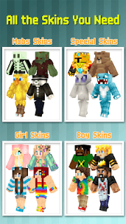 Skins For Minecraft Pocket Ed. screenshot 1