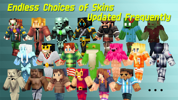 Skins For Minecraft Pocket Ed. screenshot 2