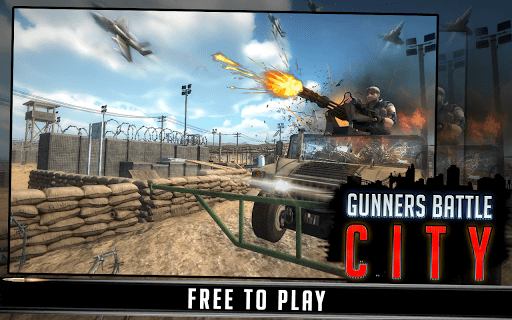 Gunner Battle City screenshot 1