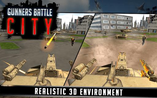 Gunner Battle City screenshot 2