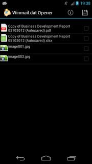 Winmail.dat Opener screenshot 2
