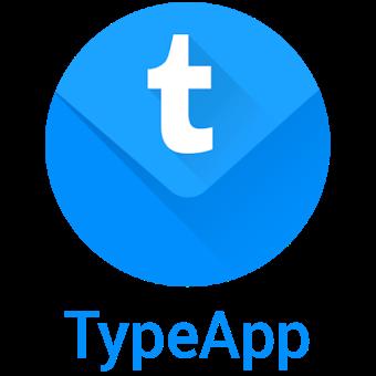 Email Typeapp  app