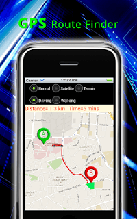 Gps Route Finder Maps screenshot 1