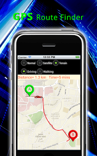 Gps Route Finder Maps screenshot 2