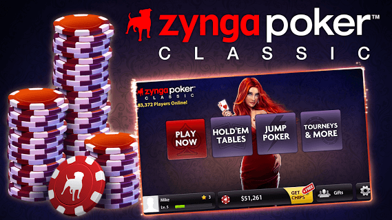 Zynga Poker Classic Tx Holdem screenshot 1