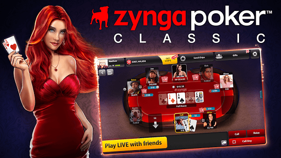 Zynga Poker Classic Tx Holdem screenshot 2