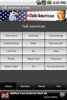Talk American  screenshot 1