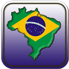 Map Of Brazil icon