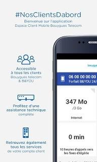 Espace Client Mobile pc screenshot 1