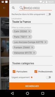 Leboncoin screenshot 2