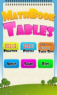 Math Tables screenshot 1