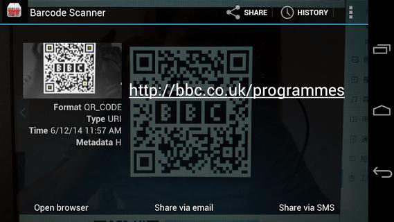 Barcode &qrcode Scanner pc screenshot 1
