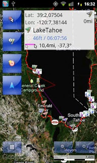 Tracky Gps Navigation+ Compass screenshot 1